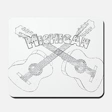 Michigan Guitars Mousepad