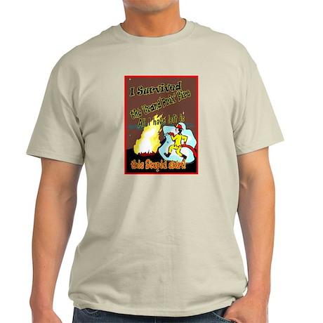 Grand Prix Fire! (Ash Grey T-Shirt)