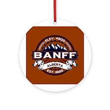 Banff Vibrant Ornament (Round)