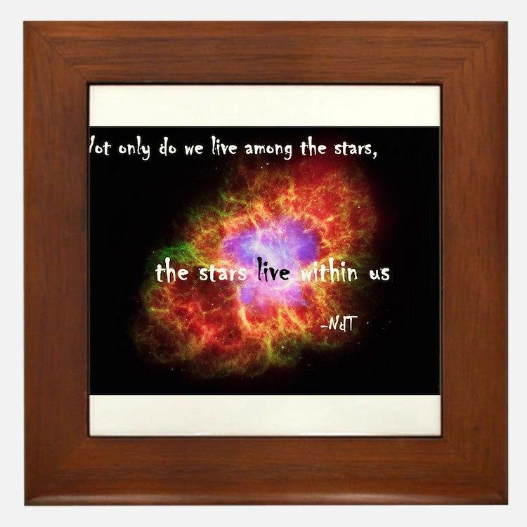 Neil deGrasse Tyson's Stardust Framed Tile