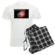 Neil deGrasse Tyson's Stardust pajamas