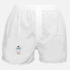 Snowman - Ben Boxer Shorts