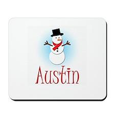 Snowman - Austin Mousepad