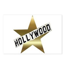 Unique Hollywood Postcards (Package of 8)