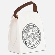 Minnesota Seal Canvas Lunch Bag