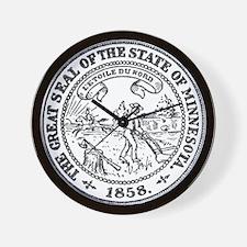 Minnesota Seal Wall Clock