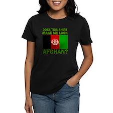 Afghan Flag Designs Tee