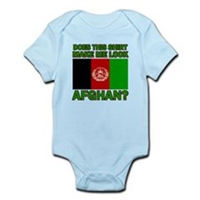 Afghan Flag Designs Infant Bodysuit