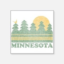 Vintage Minnesota Sunset Sticker