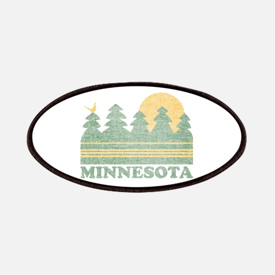 Vintage Minnesota Sunset Patches