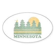 Vintage Minnesota Sunset Decal