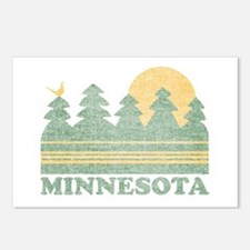 Vintage Minnesota Sunset Postcards (Package of 8)