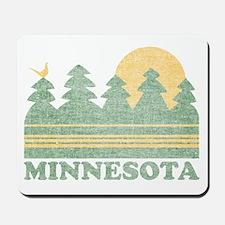 Vintage Minnesota Sunset Mousepad