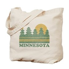 Vintage Minnesota Sunset Tote Bag