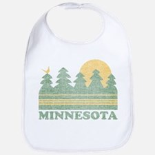 Vintage Minnesota Sunset Bib