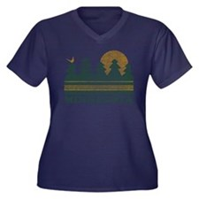 Vintage Minnesota Sunset Plus Size T-Shirt