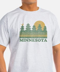 Vintage Minnesota Sunset T-Shirt