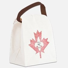 Vintage Little Canada Minnesota Canvas Lunch Bag