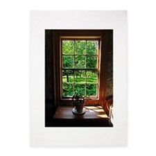 colonial Cottage Window 1.jpg 5'x7'Area Rug