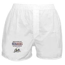 US Navy Seabees RWB Boxer Shorts