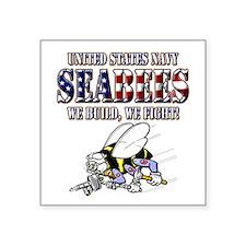 US Navy Seabees RWB Sticker