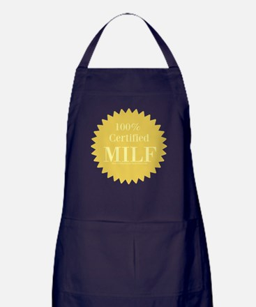100% Certified Milf Apron (dark)