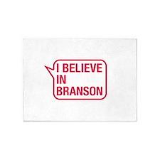 I Believe In Branson 5'x7'Area Rug