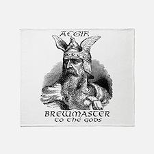Aegir Viking Brewmaster Throw Blanket