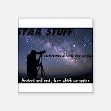 Star Stuff contemplating the stars Sticker