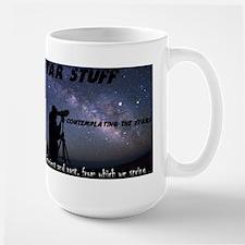 Star Stuff contemplating the stars Mug