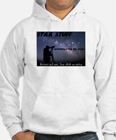 Star Stuff contemplating the stars Hoodie