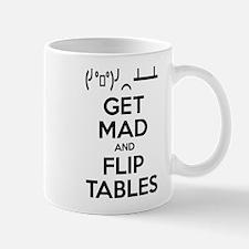 Get Mad and Flip Tables Small Mug