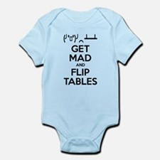 Get Mad and Flip Tables Body Suit