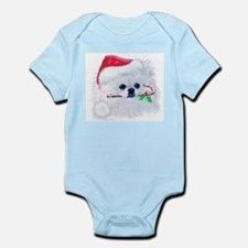 Trish's Pomeranian Christmas Infant Bodysuit