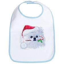 Trish's Pomeranian Christmas Bib