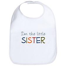 I'm the Little Sister Bib