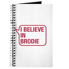 I Believe In Brodie Journal