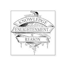 Temple of Knowledge, Enlightenment Reason Sticker