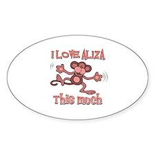 I love Aliza Decal