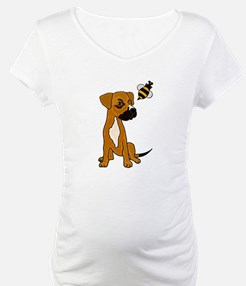 Boxer Mix Puppy Dog and Bee Shirt