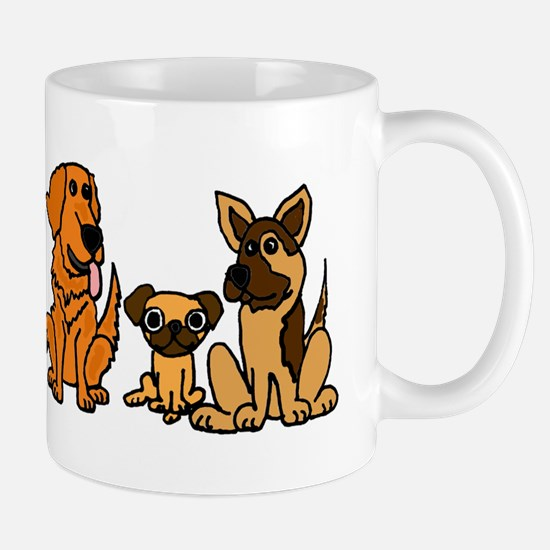Rescue Dog Cartoon Mug