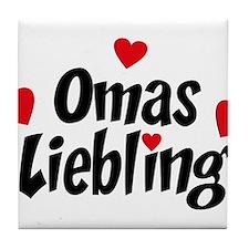 Omas Liebling Tile Coaster