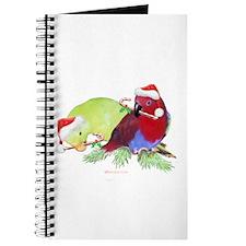 Trish's Parrots Christmas Journal