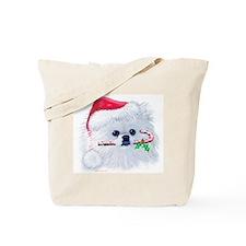 Trish's Pomeranian Christmas Tote Bag