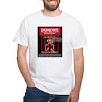 Senior Drug Offenders! White T-Shirt