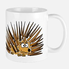 Funky Porcupine Art Mug