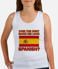 Spanish Flag Designs Women's Tank Top