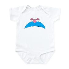 Einstein mustache 1 Infant Bodysuit