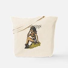 Vintage Mississippi Cowgirl Tote Bag