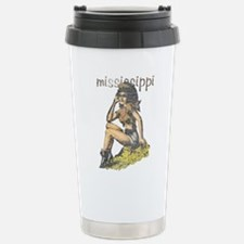 Vintage Mississippi Cowgirl Travel Mug
